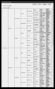 8代血統表